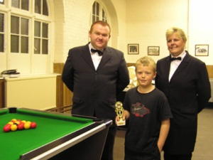 GMFCYP under 12 pool champion - Dylan Whitehead