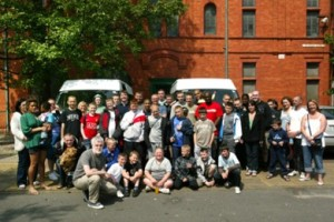 Setting off for camp 2008