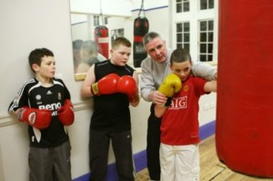 dave connell junior boxing class