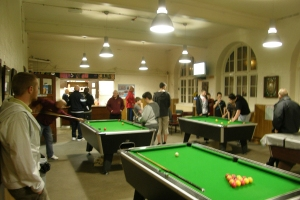 snooker in junior games room