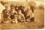 Lads at the 1904 camp