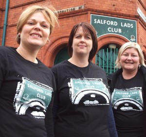 Smiths fans from leicestershire  model our new t shirt