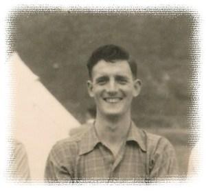 Jm Houghton at the 1953 SLC camp