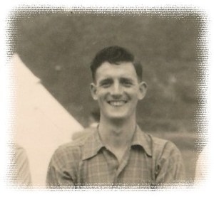 Jm Houghton at the 1953 SLC camp