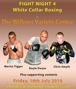 White collar boxing event 2010