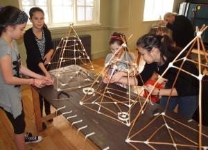 SAYO and OCA lantern workshop at Salford Lads Club  2010