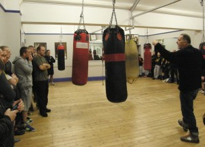 Bill Drummond and the boxing teams
