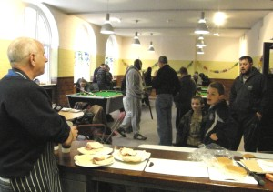 Lads & Dads breakfast and  pool event