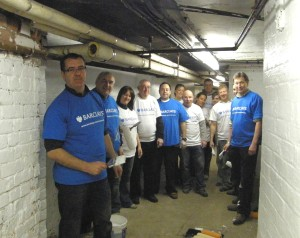 barclays team in the  SLC cellar