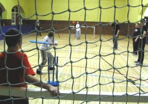 cricket in slc gym