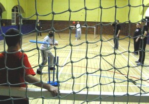 cricket in slc gym