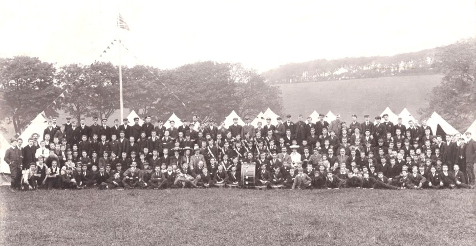 The first Salford Lads Club  Camp in 1904
