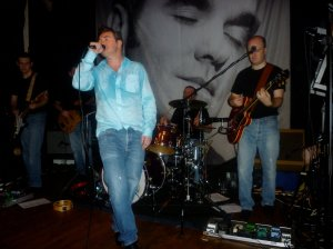 Viva Morrissey on stage at Gulliver's Bar in Manchester