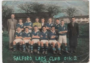 SLC football team 1953-4 season