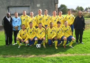 SLC open age football team 2011