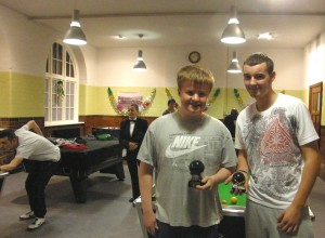 Alex wins GM under 16 pool