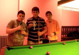 GMCYP snooker winners from SLC