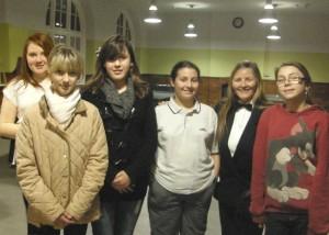 GMFCYP girls pool winners