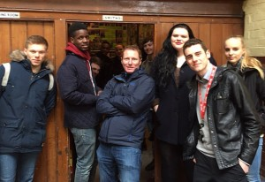 Loreto College Music Students visit the Smiths Room