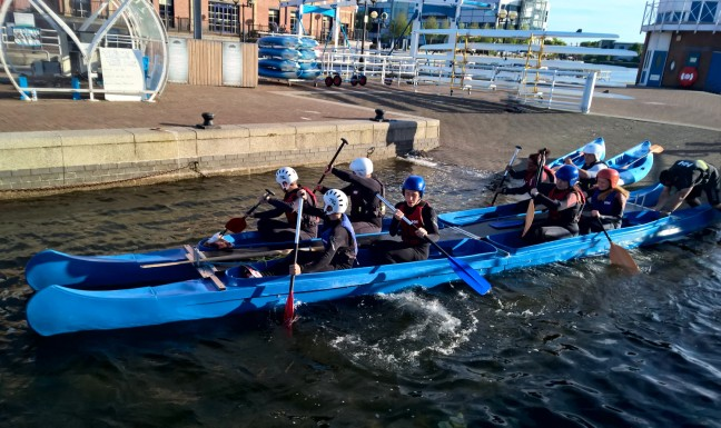 water sports centre  salford Quays june SLGC