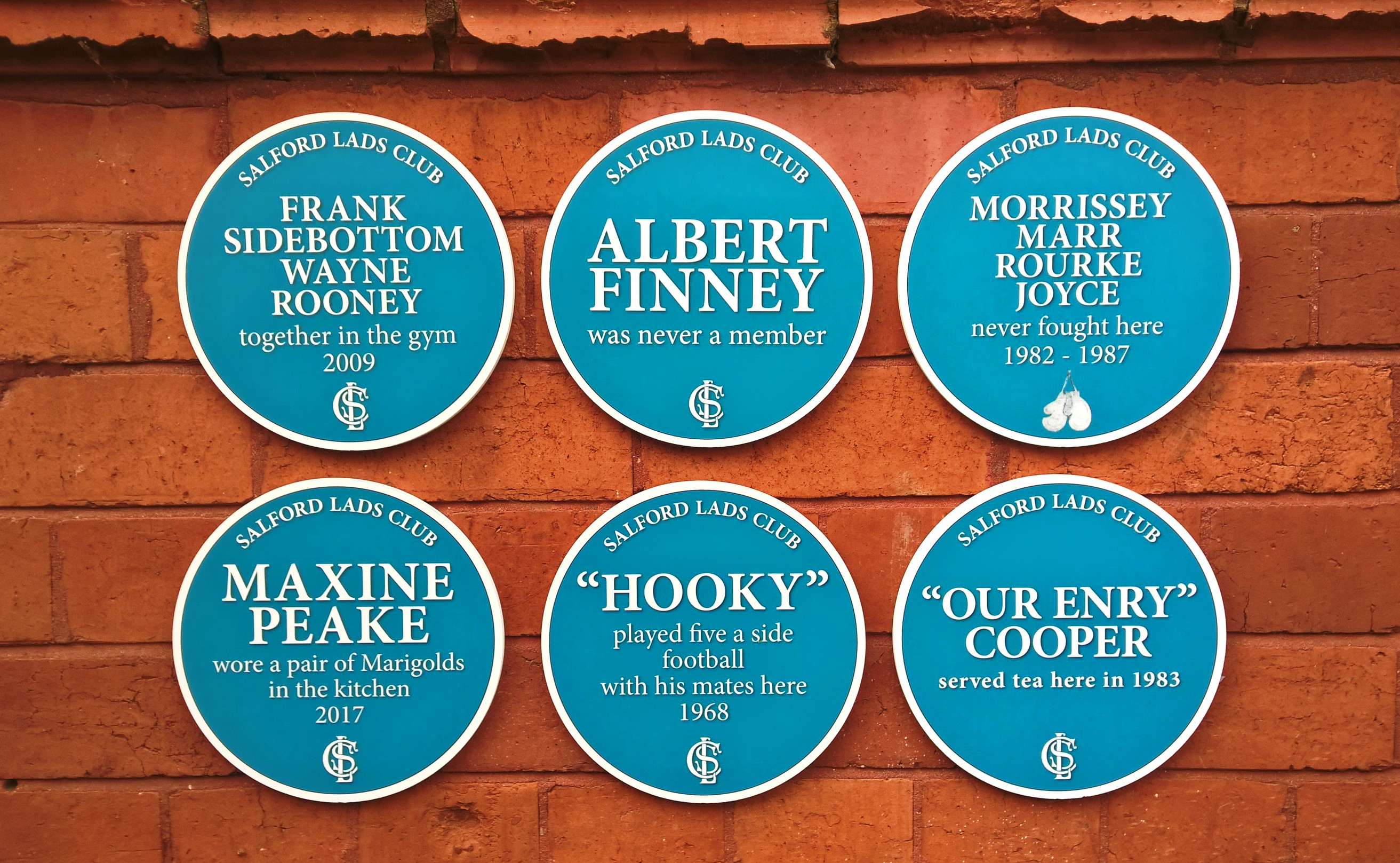 """Albert Finney was never a member"" exhibition for Heritage Weekend"