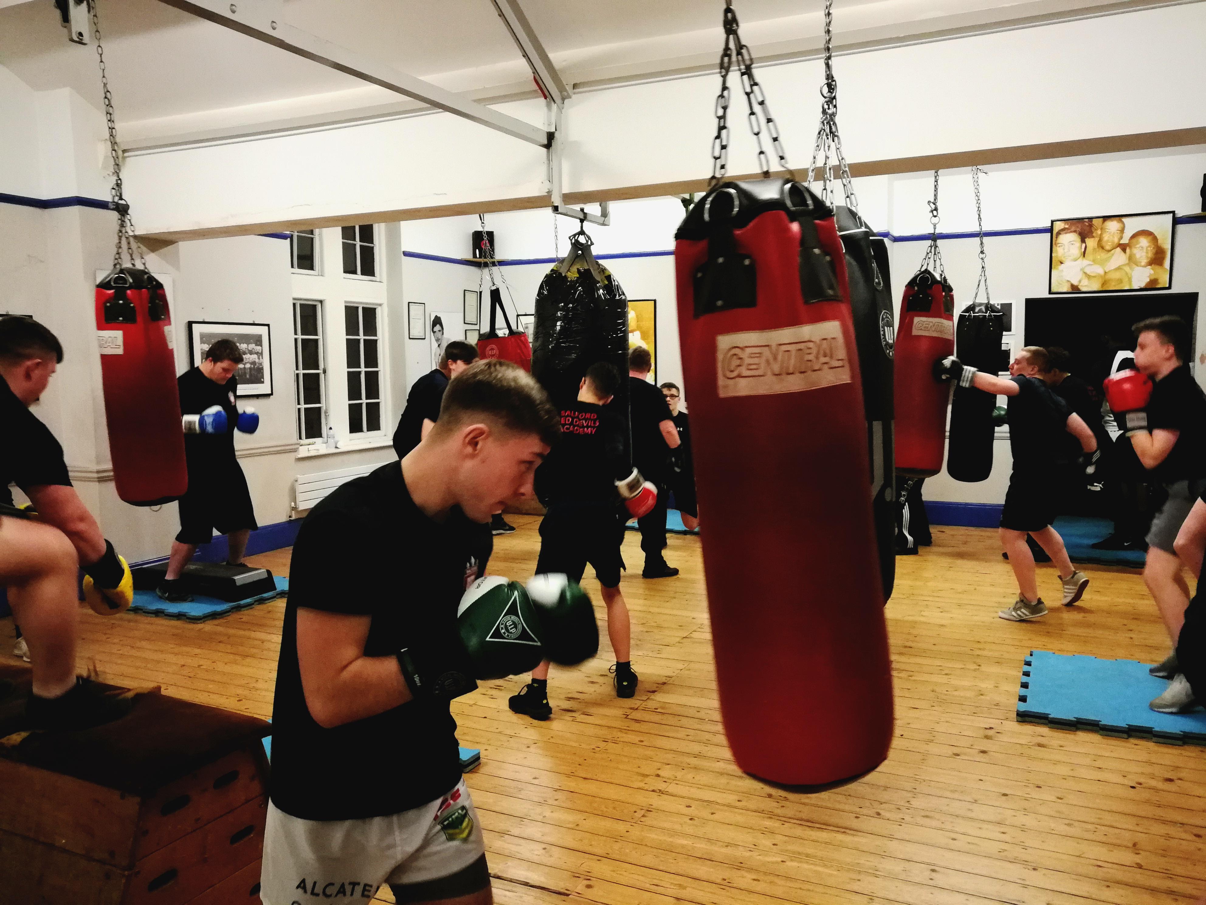 Ancoats amateur boxing club