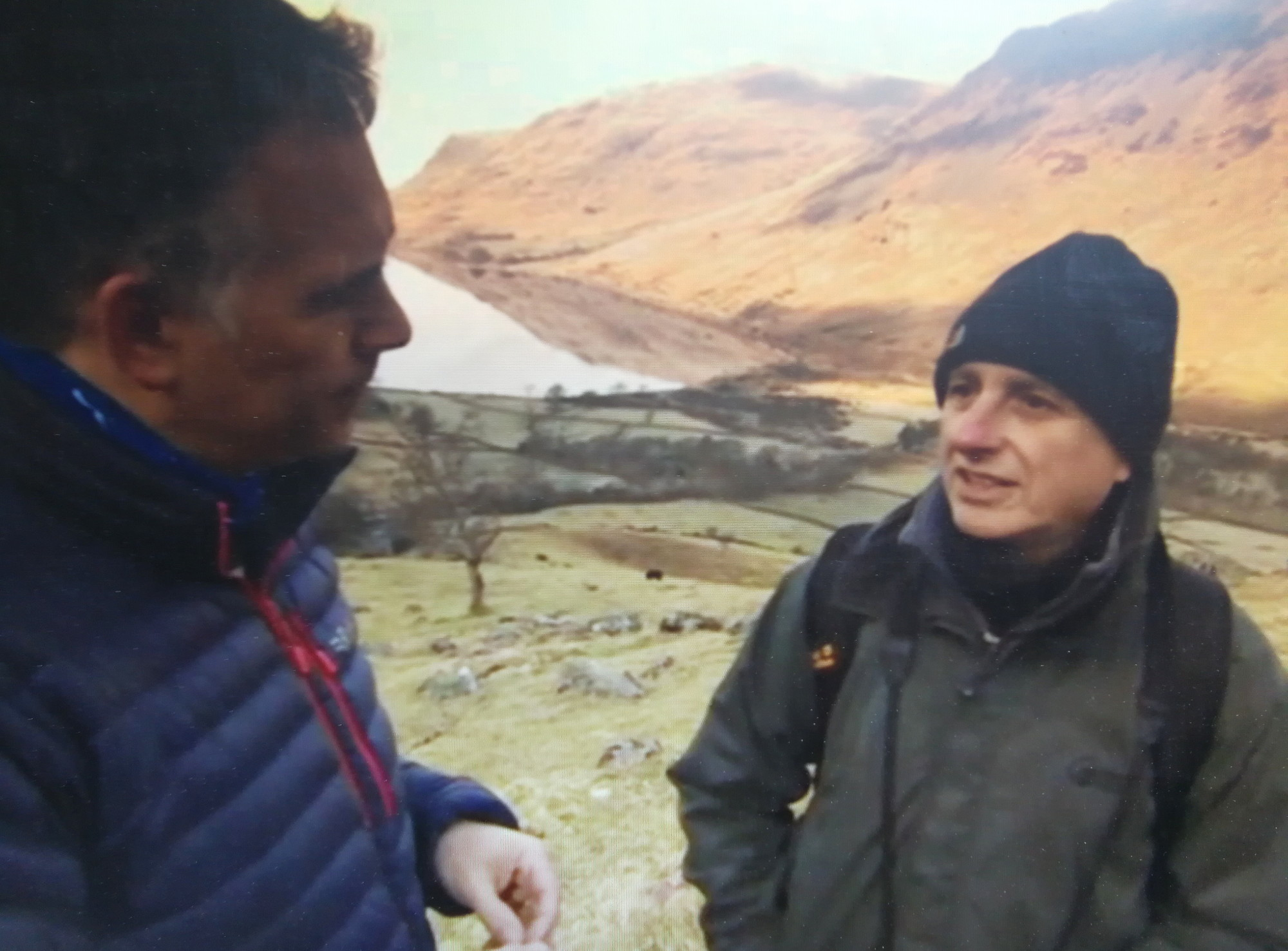 Lake district challenge for Sport Relief