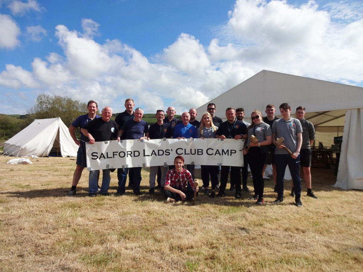 108th Salford Lads Club Camp