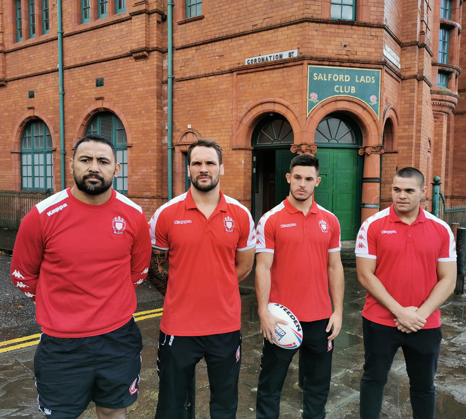 Salford Reds filmed at the club