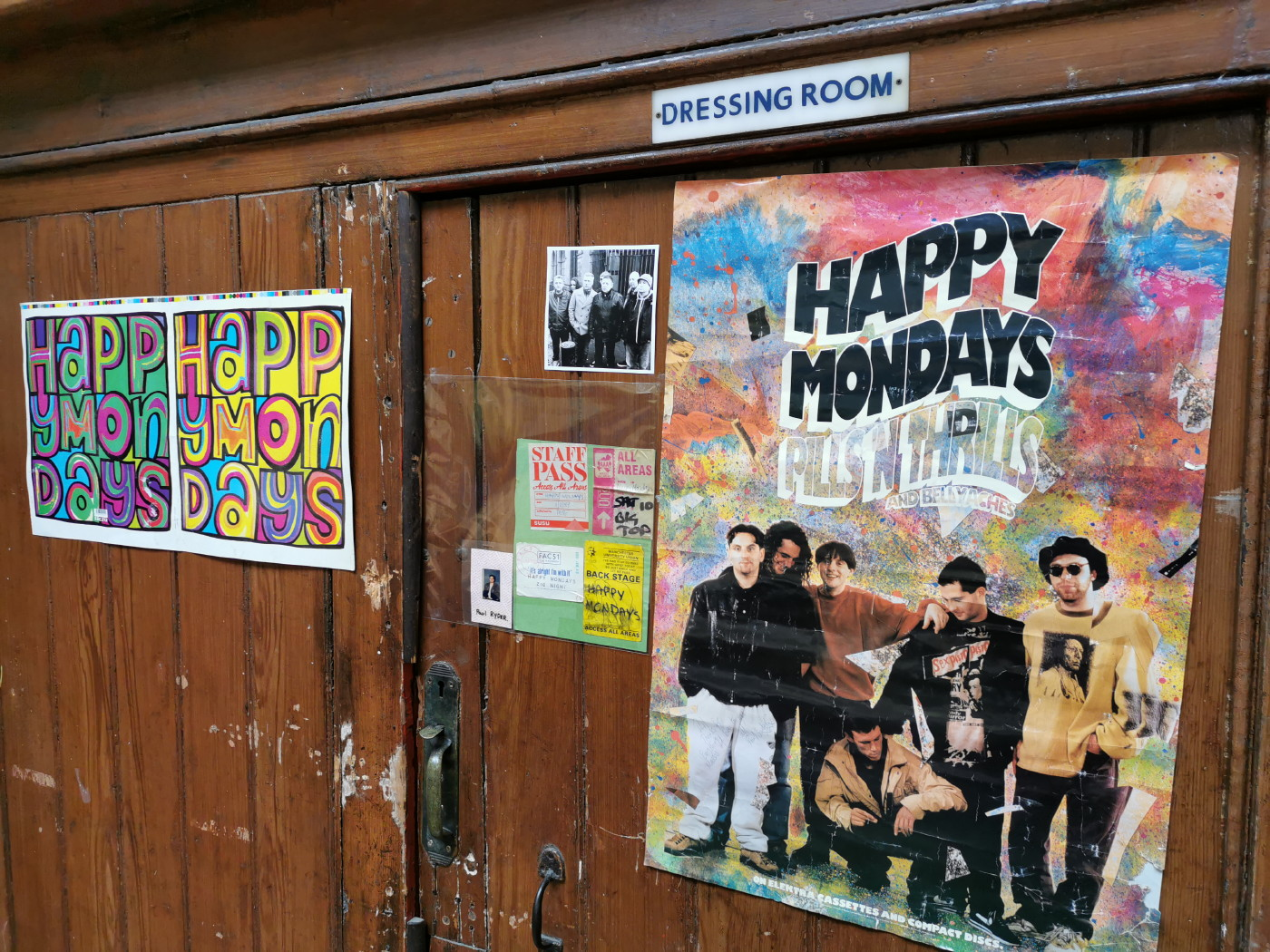Record fair and Happy Mondays Exhibition