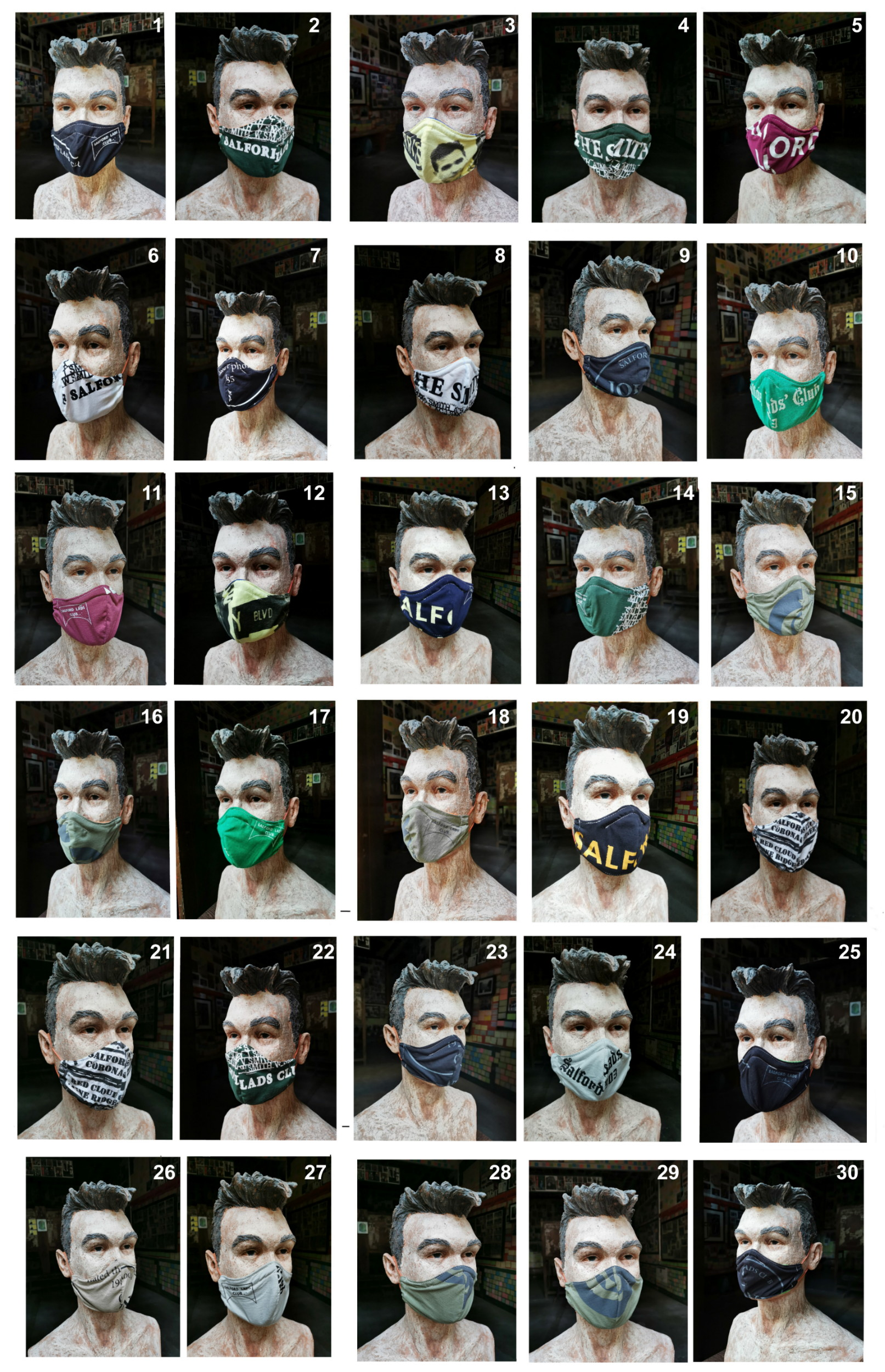 Mask me, Mask me, Mask me